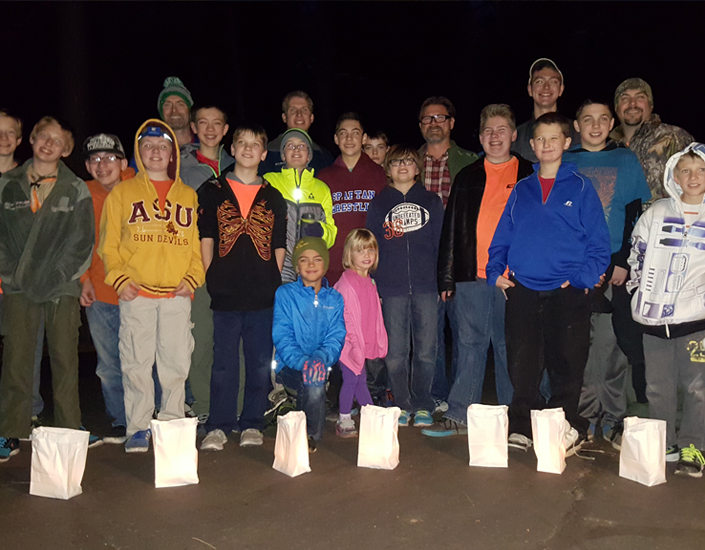 Luminarias Service Project